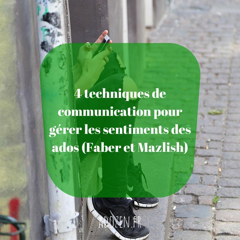 4 techniques de communication pour gérer