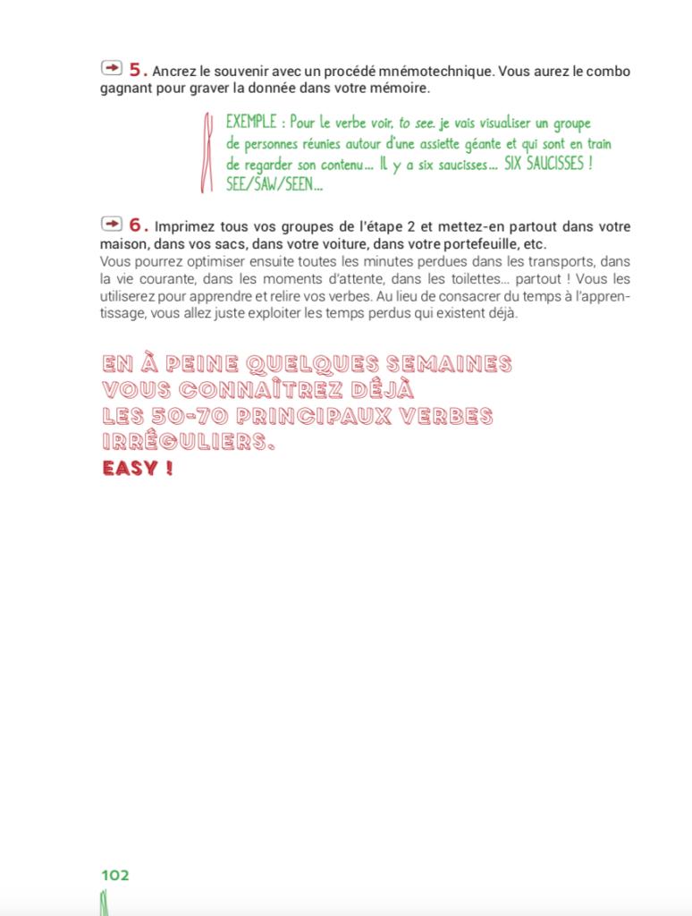 2 Methodes Pour Memoriser Les Verbes Irreguliers Ado Zen